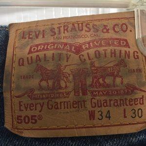 Levi Jeans, Used, Waist 34, Length 30, 2 pairs
